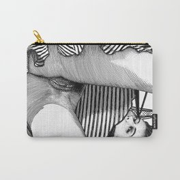asc 768 - La baronne perchée (The girl who was not afraid of heights) Carry-All Pouch