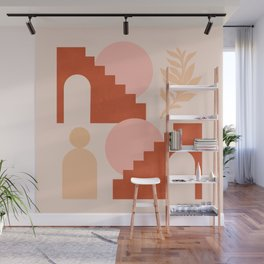 Abstraction_SHAPES_Architecture_Minimalism_003 Wall Mural