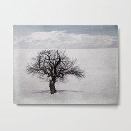 The Mindful Tree Metal Print