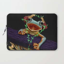Frog Friend Laptop Sleeve