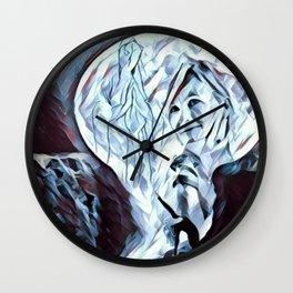 The Healing Moon Wall Clock