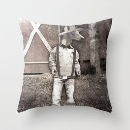 Cousin Unicorn Throw Pillow