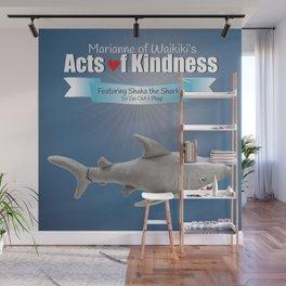 Shaka the Shark Wall Mural