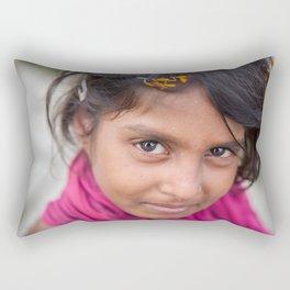 Slum Flower Rectangular Pillow
