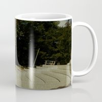 outdoor Mugs featuring Outdoor Auditorium by Losal Jsk