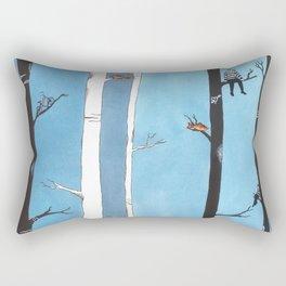 Burglars and Me Rectangular Pillow