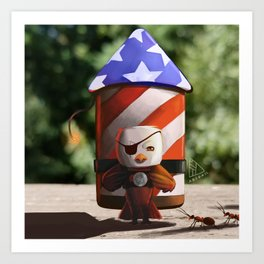 Independence Day Art Print