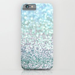 Blue Mist Snowfall iPhone Case