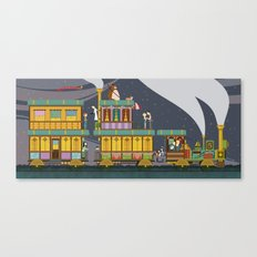 The Young Adventurers Society Canvas Print