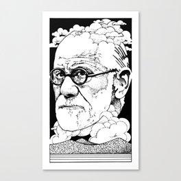 Sigmund, I Presume Canvas Print