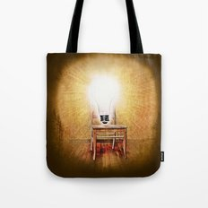 The Seat of Big Ideas Tote Bag