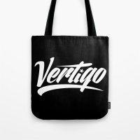 vertigo Tote Bags featuring VERTIGO by Vertigo