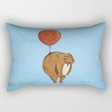 Float On, Bear, Float On Rectangular Pillow