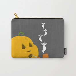 Halloween Smoking Jack o Lantern Carry-All Pouch