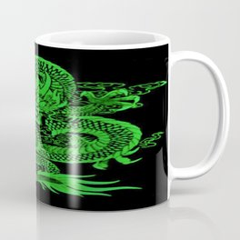 Epic Dragon Green Coffee Mug