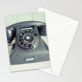 Old Rotary Telephone Stationery Cards