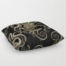 Octopsychedelia Sepia Floor Pillow