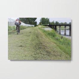 The bicycle man Metal Print