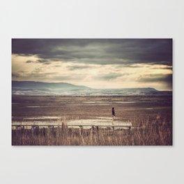 Lagunas de Pitillas Canvas Print