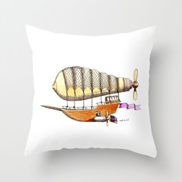 Mother Ship Throw Pillow