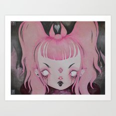 Vampirella Art Print