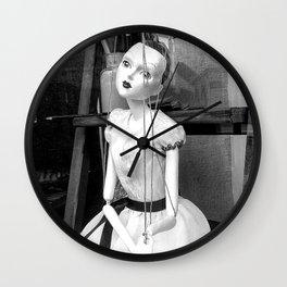 The hanged mistress Wall Clock