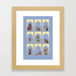 Bellydance Framed Art Print