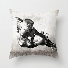 Iron Man III Throw Pillow