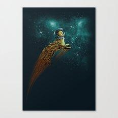 Catstronaut Canvas Print