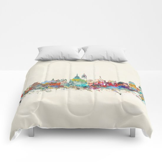 Ottawa Ontario skyline Comforters
