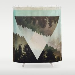 Fractions C03 Shower Curtain