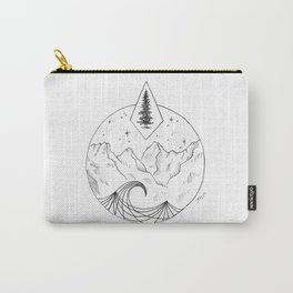 The Trees, The Mountains, And The Sea Carry-All Pouch