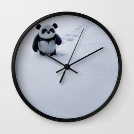 Zeke the Zen Panda Wall Clock