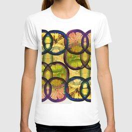 lemons pattern T-shirt