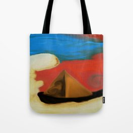 Sci-fi Planet Painting Tote Bag