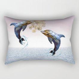 Steampunk ocean tale Rectangular Pillow