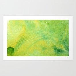 Summer Greenery Art Print