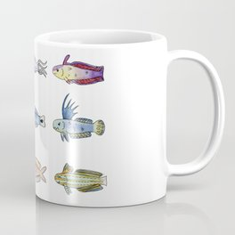 Happy Aquarium Dartfish Friends Coffee Mug