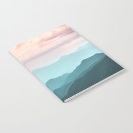 Smoky Mountain National Park Sunset Layers II - Nature Photography Notebook