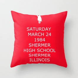 Keep Calm in Detention 1 Throw Pillow