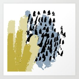 Hand drawn vector design Art Print
