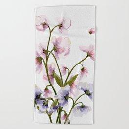 Flowers -a57 Beach Towel