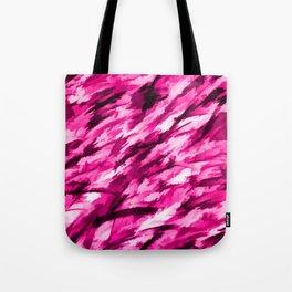 Designer Camo in Hot Pink Tote Bag