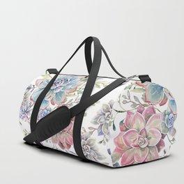 succulent watercolor 6 Duffle Bag