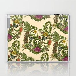 Botanical French Bulldog Laptop & iPad Skin