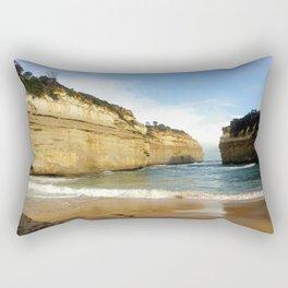 Gigantic Cliffs of the Ocean Rectangular Pillow
