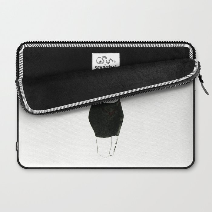 With heart and skirt Laptop Sleeve
