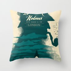 Elementary, my dear Watson. Throw Pillow