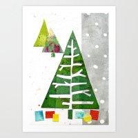 Oh Christmas Tree, oh Christmas Tree! Art Print