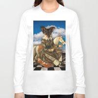dahlia Long Sleeve T-shirts featuring Dahlia by Marsha Kerns Chez